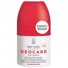 Iwostin Deocare Extreme, antyperspirant, roll-on, 50 ml