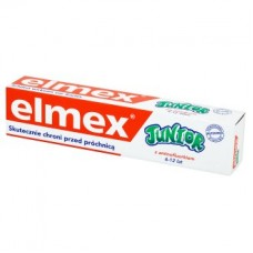 Elmex, pasta z aminofluorkiem, Junior, od 6 lat do 12 lat
