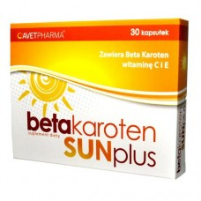 Beta Karoten Sun Plus, 30 kapsułek
