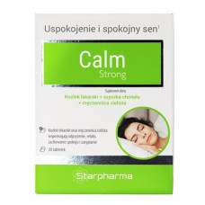 Calm Strong, (Starpharma), 30 tabletek