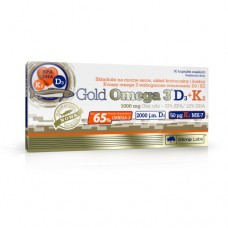 Gold Omega 3 D3 + K2, (Olimp Labs)