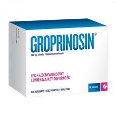 Groprinosin, 500 mg, 50 tabletek