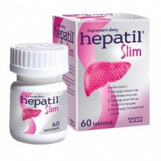 Hepatil Slim 600mg, 60 tabletek