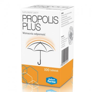 Propolis Plus, 100 tabletek