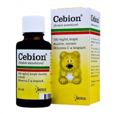 Cebion, krople doustne, (100 mg / ml)