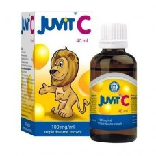 Juvit C, (100 mg/ml), krople doustne, 40 ml