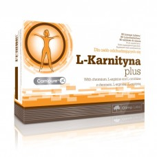 L-Karnityna forte plus, 80 tabletek do ssania, (Olimp Labs)