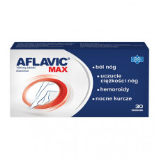 Aflavic Max 1000 mg, 30 tabletek