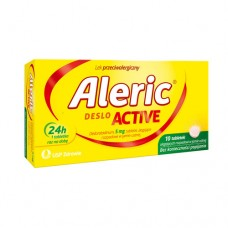 Aleric Deslo Active 5mg, 10 tabletek