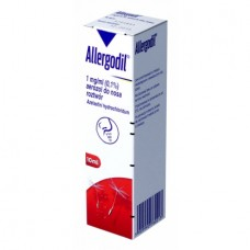 Allergodil 1mg/ml (0,1%), aerozol do nosa, 10 ml