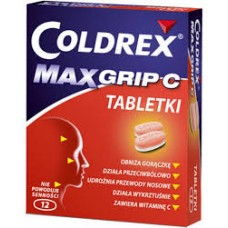 Coldrex MaxGrip C, 12 tabletek