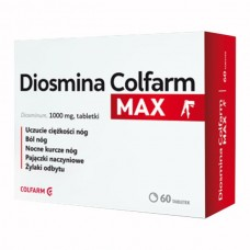Diosmina Colfarm Max 1000 mg, 60 tabletek