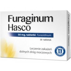 Furaginum Hasco 50mg, 30 tabletek
