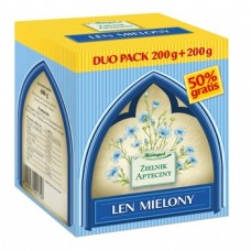 Len mielony, duo pack 200 g + 200 g, (Herbapol Lublin)