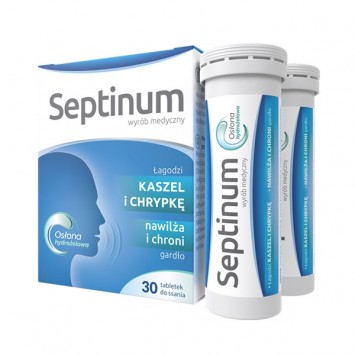 Septinum, 30 tabletek do ssania