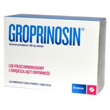 Groprinosin, tabletki, 500 mg