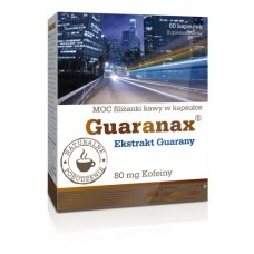 Guaranax, ekstrakt guarany, kapsułki, (Olimp Labs)